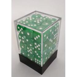 Marbeled Dobbelstenen 12mm: licht groen