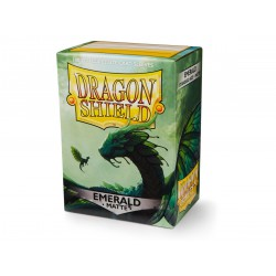Sleeves Dragon Shield Matte Emerald (100 stuks)