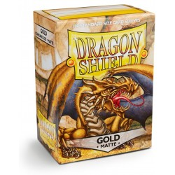 Dragon Shield Sleeves Matte - Gold