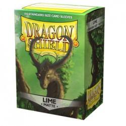 Dragon Shield Sleeves Matte - Lime