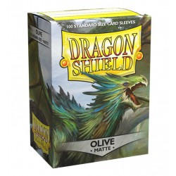 Dragon Shield Sleeves Matte - Olive