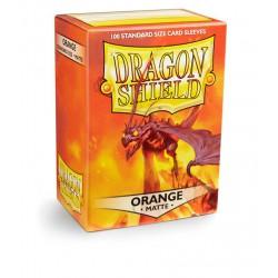 Dragon Shield Sleeves Matte - Orange