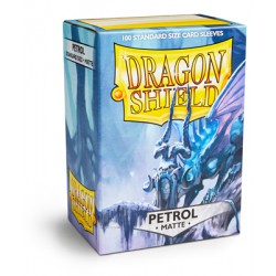 Sleeves Dragon Shield Matte Petrol (100 stuks)