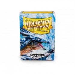 Dragon Shield Sleeves Matte Sapphire