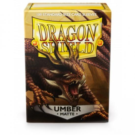 Sleeves Dragon Shield Matte Umber (100 stuks)