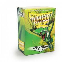 Sleeves Dragon Shield Matte Apple Green (100 stuks)