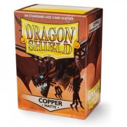 Dragon Shield Sleeves Matte - Copper