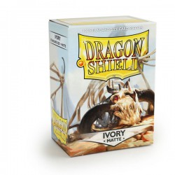 Sleeves Dragon Shield Matte Ivory (100 stuks)