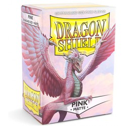 Sleeves Dragon Shield Matte Pink (Roze) (100 stuks)