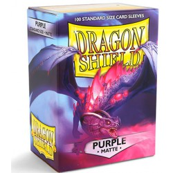 Sleeves Dragon Shield Matte Purple (Paars) (100 stuks)