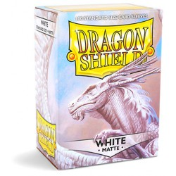Sleeves Dragon Shield Matte White (Wit) (100 stuks)