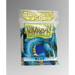 Sleeves Dragon Shield Standard Blue (Blauw) (50 stuks)