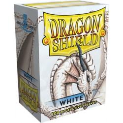 Sleeves Dragon Shield Standard White (Wit) (100 stuks)