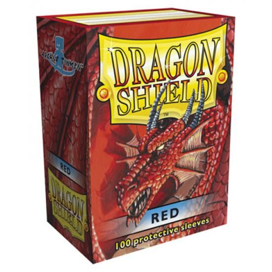 Sleeves Dragon Shield Standard Red (Rood) (100 stuks)
