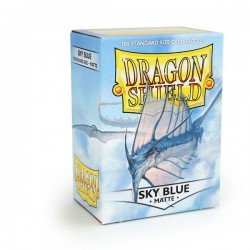 Sleeves Dragon Shield Matte Sky Blue (100 stuks)