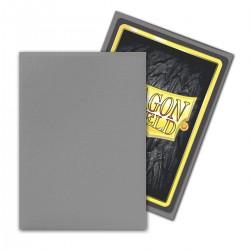 Dragon Shield Matte Non-Glare Sleeves - Silver