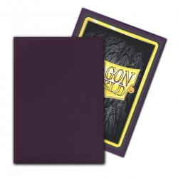 Dragon Shield Matte Non-Glare Sleeves - Purple