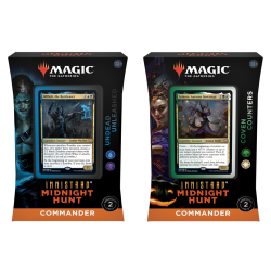 Commander deck - Innistrad: Midnight Hunt Set van 2