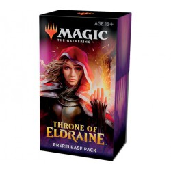 Prerelease kit Throne of Eldrain