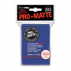 Ultra Pro Sleeve Mat - 50 (Blauw)