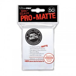 Ultra Pro Sleeve Mat - 50 (Wit)
