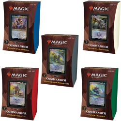 Strixhaven Commander decks: Set van 5 decks