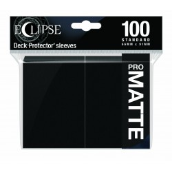 Ultra Pro Sleeve Eclipse Matte - Jet Black (100 Sleeves)