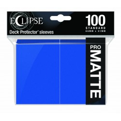 Ultra Pro Sleeve Eclipse Matte - Pacific Blue (100 Sleeves)
