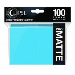 Ultra Pro Sleeve Eclipse Matte - Sky Blue (100 Sleeves)