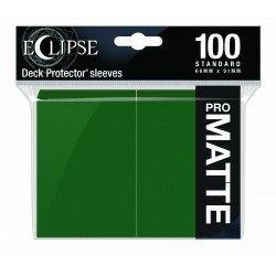Ultra Pro Sleeve Eclipse Matte - Forest Green (100 Sleeves)