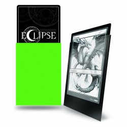 Ultra Pro Sleeve Eclipse Matte - Lime Green (100 Sleeves)