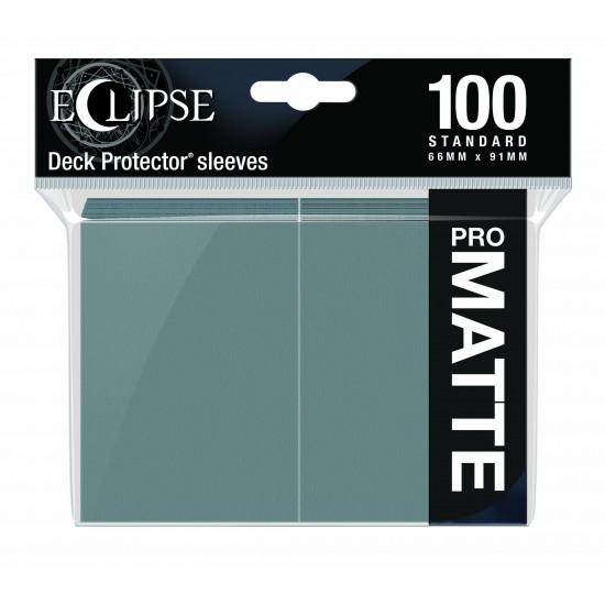 Ultra Pro Sleeve Eclipse Matte - Smoke Grey (100 Sleeves)