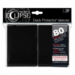 Ultra Pro Sleeve Eclipse Matte - Zwart (80 Sleeves)