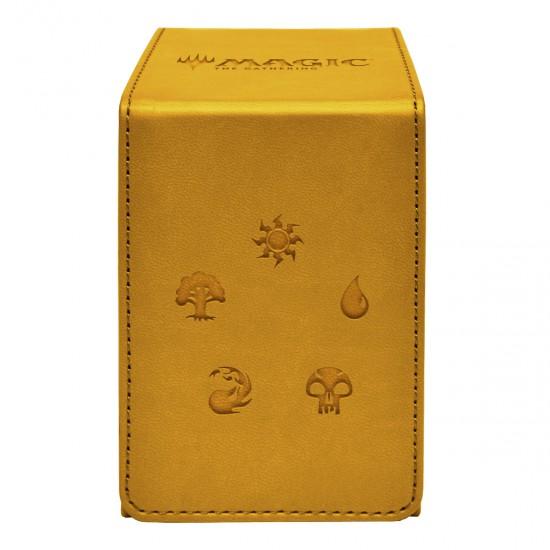Deckbox Alcove Flip Box: Gold for Magic