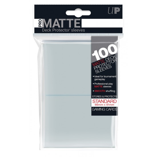 Ultra Pro Sleeve Mat - 100 (Wit)
