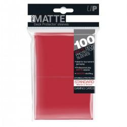 Ultra Pro Sleeve Mat - 100 (Rood)